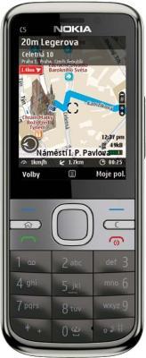 Смартфон Nokia C5-00.2 Warm Gray - вид спереди
