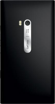 Смартфон Nokia Lumia 900 Black - задняя панель
