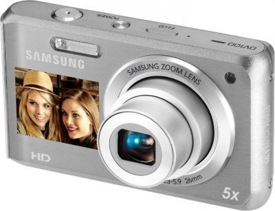 Компактный фотоаппарат Samsung DV100 (EC-DV100ZBPSRUA) Silver - общий вид