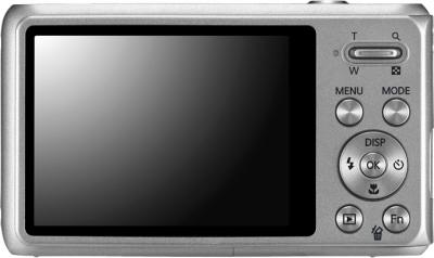 Компактный фотоаппарат Samsung DV100 (EC-DV100ZBPSRUA) Silver - вид сзади