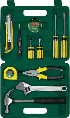 Универсальный набор инструментов RBT HY-T12-4 (12 предметов) - общий вид
