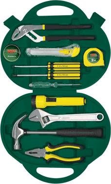 Универсальный набор инструментов RBT HY-T12 (12 предметов) - общий вид