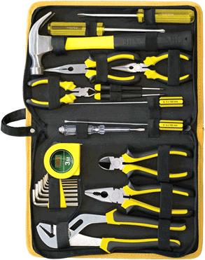 Универсальный набор инструментов RBT HY-T24 (23 предмета) - общий вид
