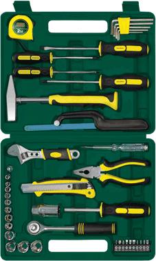 Универсальный набор инструментов RBT HY-T34 (34 предмета) - общий вид