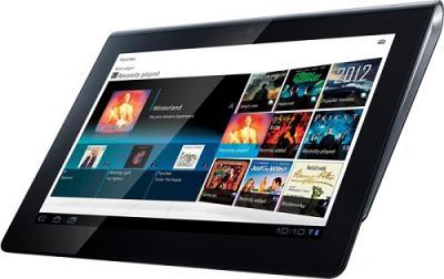 Планшет Sony Tablet S 16 Gb 3G (SGPT114RU/S) - Вид спереди сбоку