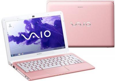 Ноутбук Sony VAIO (SVE1111M1RP) - Вид с двух сторон