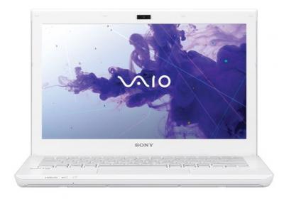 Ноутбук Sony VAIO SV-S1311E3R/W - спереди