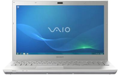 Ноутбук Sony VAIO SV-S1311L9R/S - спереди