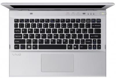 Ноутбук Sony VAIO SV-T1111Z9R/S - сверху