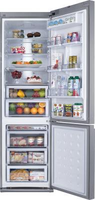 Холодильник с морозильником Samsung RL52TEBSL1 - общий вид