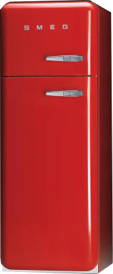 Холодильник с морозильником Smeg FAB30RAL - общий вид