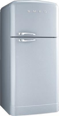 Холодильник с морозильником Smeg FAB40X - вид спереди