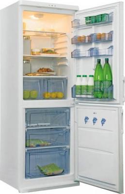 Холодильник с морозильником Candy CCM360SL - общий вид