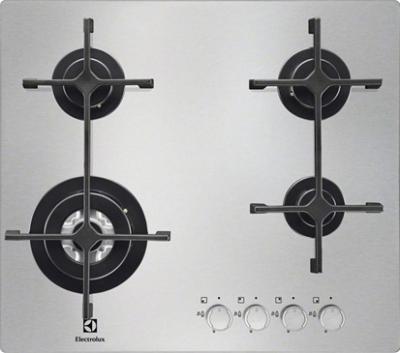 Газовая варочная панель Electrolux EGS6343NOX - общий вид