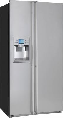 Холодильник с морозильником Smeg FA55XBIL1 - общий вид