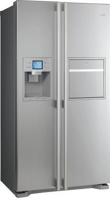 Холодильник с морозильником Smeg SS55PTLH1 - вид спереди