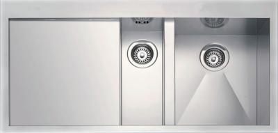 Мойка кухонная Smeg LQ100SF - вид сверху