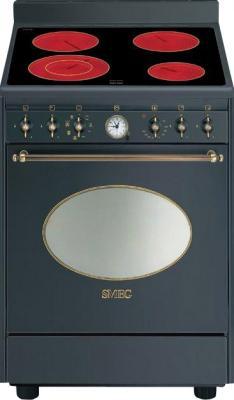 Кухонная плита Smeg CO68CMA8 - вид спереди