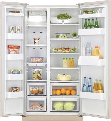 Холодильник с морозильником Samsung RSA1NTVB1 - внутренний вид
