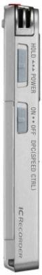 Цифровой диктофон Sony ICD-UX522 Silver - вид слева