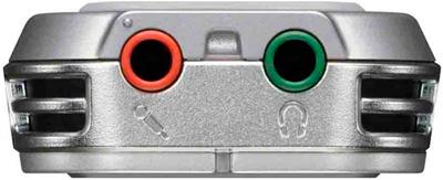 Цифровой диктофон Sony ICD-UX522 Silver - вид снизу