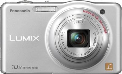 Компактный фотоаппарат Panasonic Lumix DMC-SZ1EE-S - вид спереди