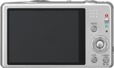 Компактный фотоаппарат Panasonic Lumix DMC-SZ1EE-S - вид сзади