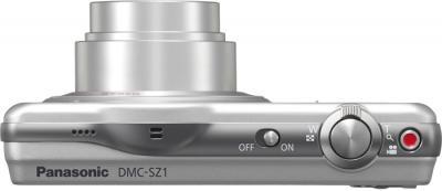 Компактный фотоаппарат Panasonic Lumix DMC-SZ1EE-S - вид сверху