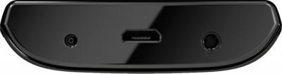 Смартфон Nokia 500 Black-Azur - разъем