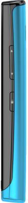 Смартфон Nokia 500 Black-Azur - боковая панель