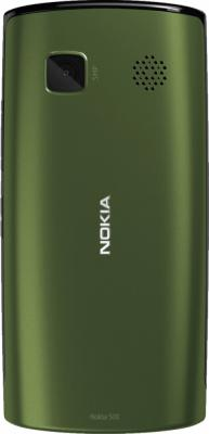 Смартфон Nokia 500 Black-Khaki - задняя панель