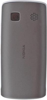 Смартфон Nokia 500 White-Silver - задняя панель