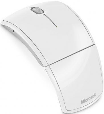 Мышь Microsoft ARC Mouse White (ZJA-00048) - общий вид