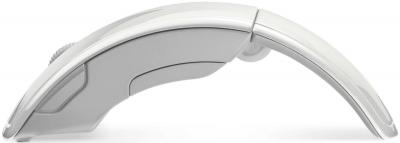 Мышь Microsoft ARC Mouse White (ZJA-00048) - вид сбоку
