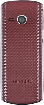 Мобильный телефон Samsung E2232 Red (GT-E2232 WRASER) - вид сзади