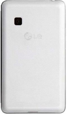Мобильный телефон LG T375 Cookie Smart White - сзади