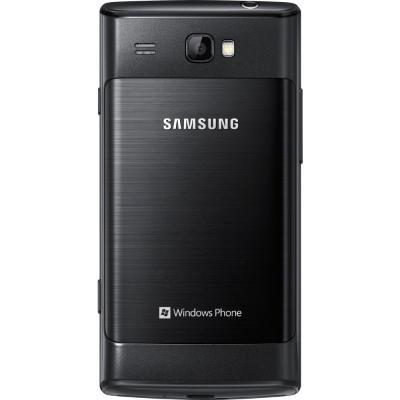 Смартфон Samsung i8350 Omnia W (GT-I8350 HKASER) - сзади