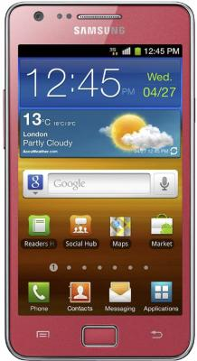Смартфон Samsung i9100 Galaxy S II Pink (GT-I9100 OIASER) - общий вид