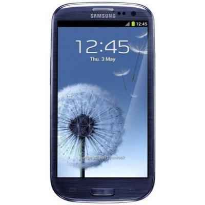 Смартфон Samsung Galaxy S III / I9300 (голубой) - спереди