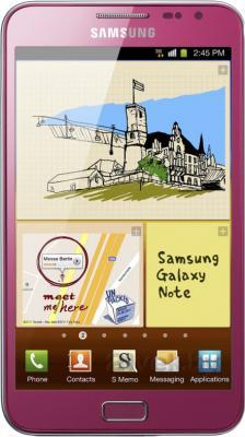 Смартфон Samsung N7000 Galaxy Note (16Gb) (GT-N7000 ZIASER) - общий вид