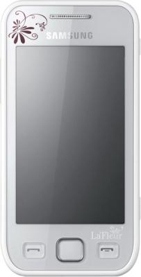 Смартфон Samsung S5250 Wave 525 Pearl White (GT-S5250 PWFSER) - общий вид