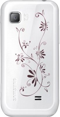 Смартфон Samsung S5250 Wave 525 Pearl White (GT-S5250 PWFSER) - задняя панель