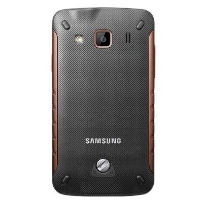 Смартфон Samsung S5690 Galaxy Xcover Black (GT-S5690 KOASER) - сзади