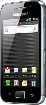 Смартфон Samsung S5830 Galaxy Ace Black Glossy (GT-S5830 OKISER) - полубоком