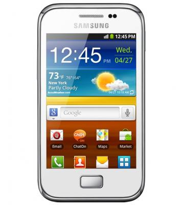 Смартфон Samsung S6500 Galaxy Mini 2 White (GT-S6500 RWDSER) - спереди
