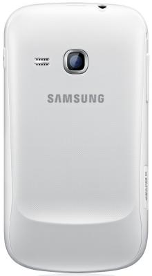 Смартфон Samsung S6500 Galaxy Mini 2 White (GT-S6500 RWDSER) - сзади