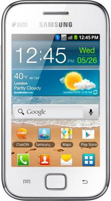 Смартфон Samsung Galaxy Ace Duos / S6802 (белый) - общий вид
