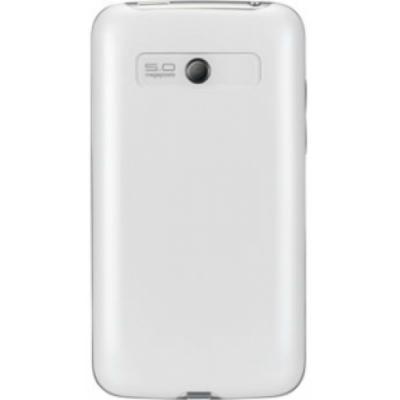 Смартфон LG E510 Optimus Hub White - сзади
