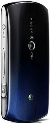 Смартфон Sony Ericsson Xperia neo V (MT11i) Black-Blue - вид сзади