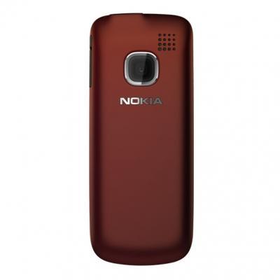 Мобильный телефон Nokia C1-01 Red - сзади